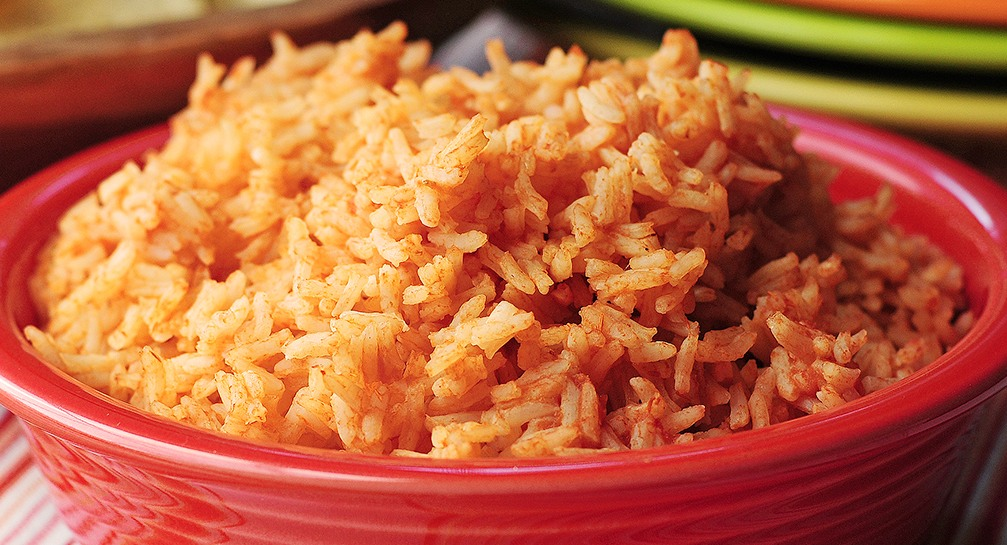 easy mexican rice recipe, chef rosie, provecho grill, mexican inspired recipes, calimex food, calimex restaurant, latina chef