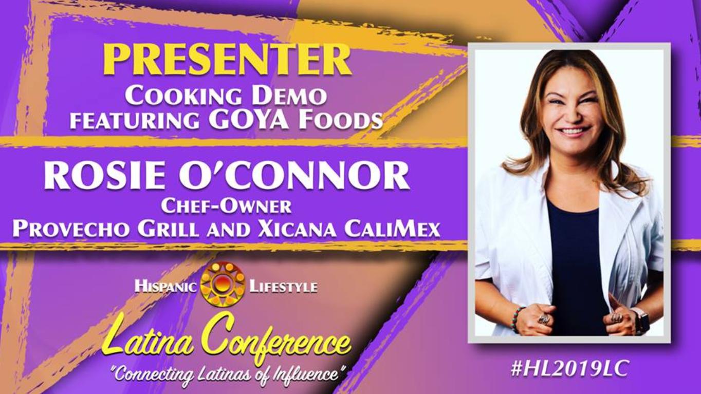 goya brand ambassador, chef rosie, food blogger